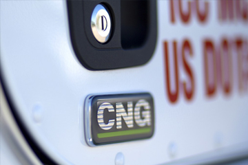 Time Transport CNG Fleet